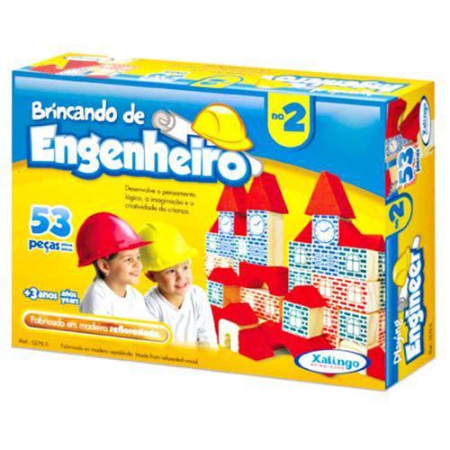 Brincando De Engenheiro II  - Alegria Brinquedos