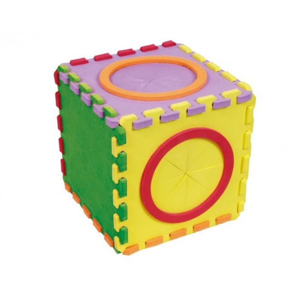 Caixa Tatil Em E.v.a. 16 Pc 250 X 250 Mm  - Alegria Brinquedos