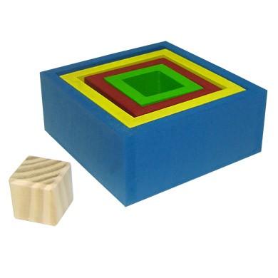 Caixas Coloridas de Encaixe  - Alegria Brinquedos