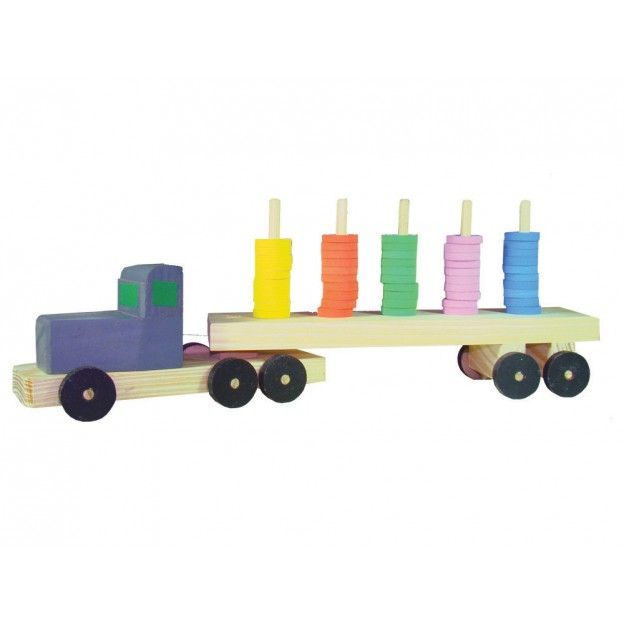Caminhão Transábaco  - Alegria Brinquedos