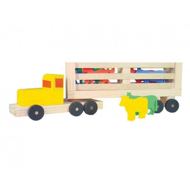 Caminhão Transrodeio  - Alegria Brinquedos