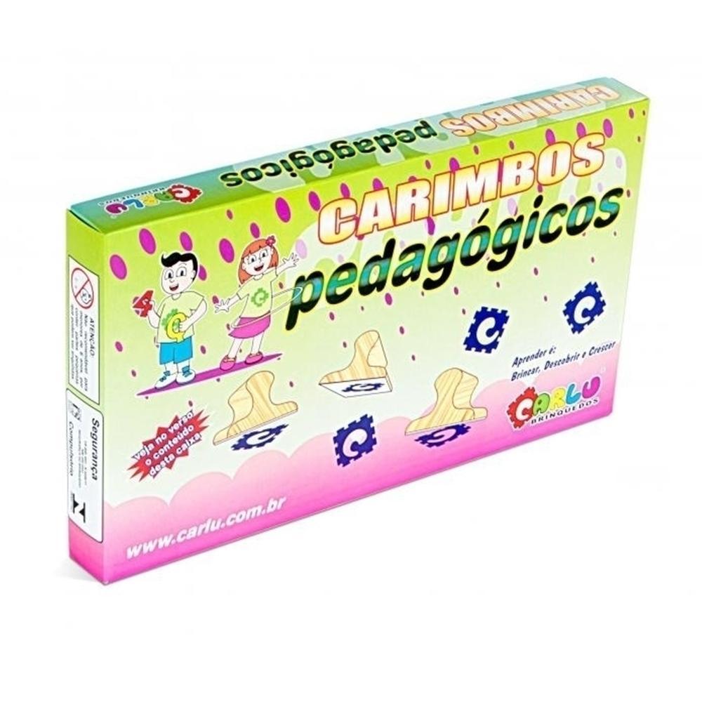 Carimbos Conhecendo Os Algarismos  - Alegria Brinquedos