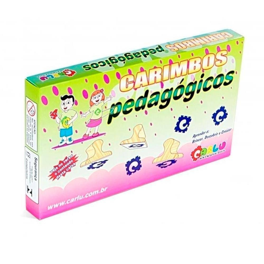 Carimbos Pedagogico Ecoteca  - Alegria Brinquedos