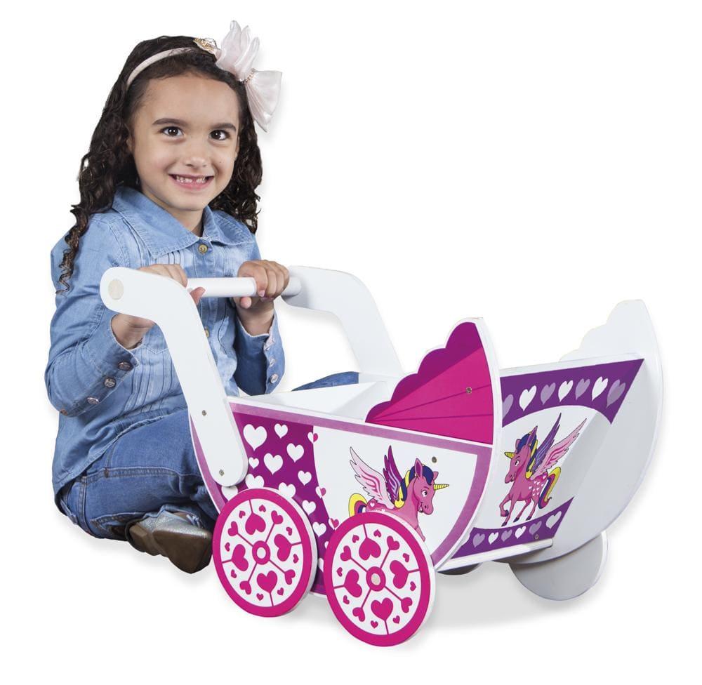 Carrinho De Bebê  - Alegria Brinquedos