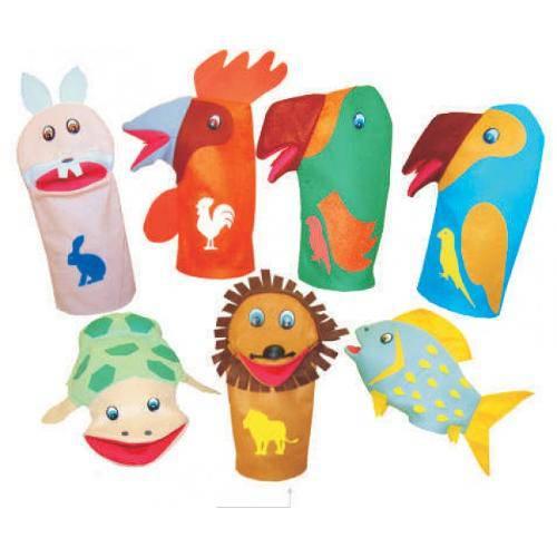 Fantoches Animais Sortidos  - Alegria Brinquedos