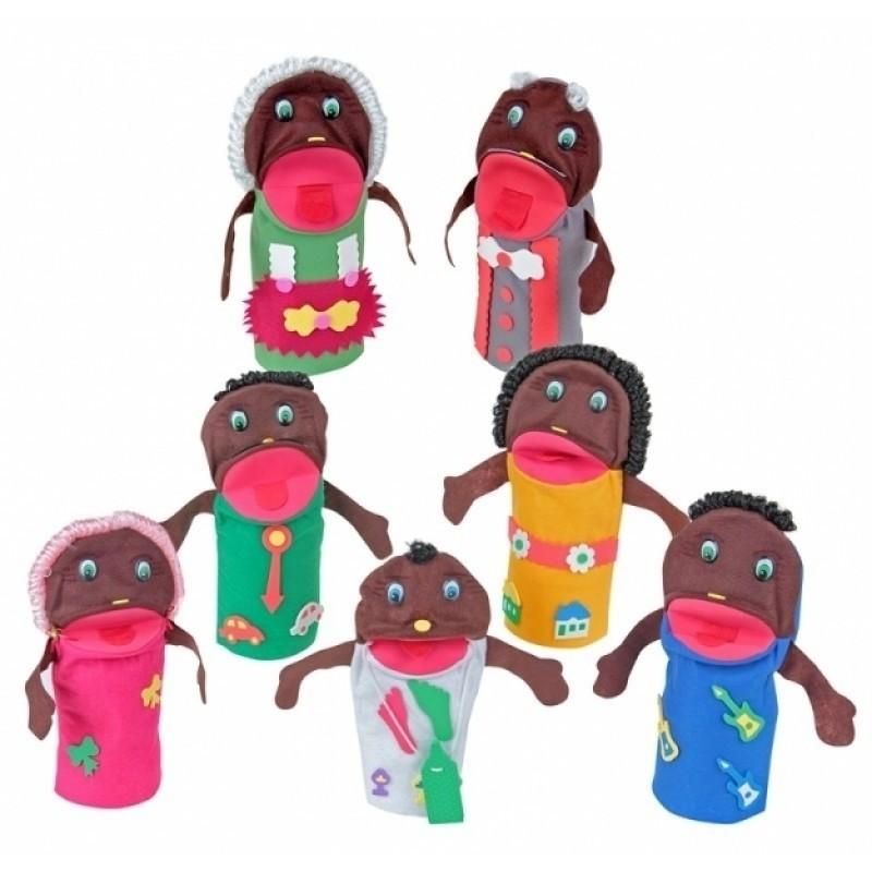 Fantoches Familia Negra
