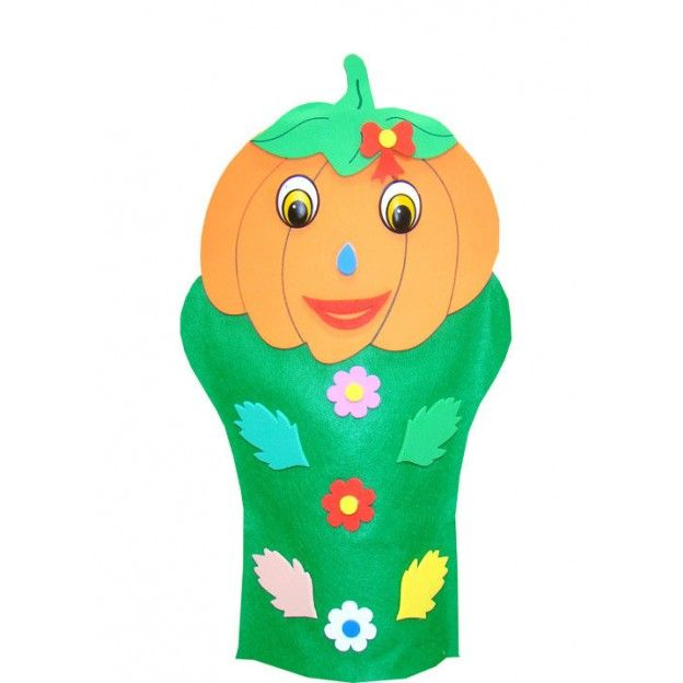 Fantoches Legumes  - Alegria Brinquedos