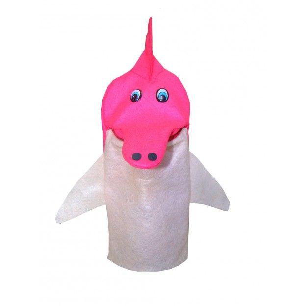 Fantoches Lenda do Boto Cor-De-Rosa Kit com 4 Personagens  - Alegria Brinquedos