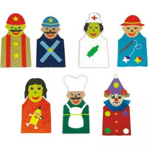 Fantoches Profissoes  - Alegria Brinquedos
