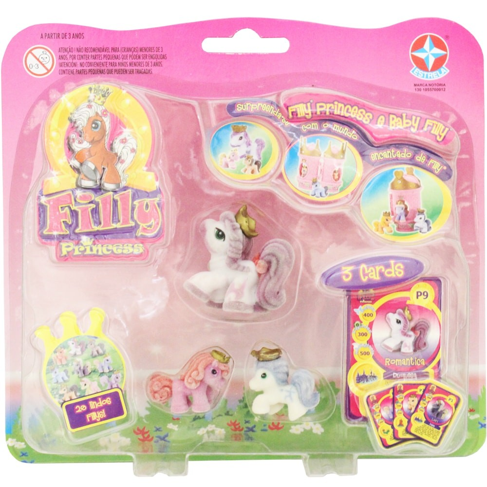 Filly Princess E Baby Filly  - Alegria Brinquedos