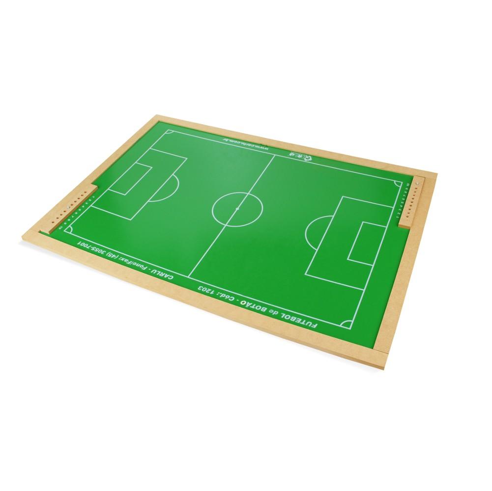 Futebol de Botão em M.D.F. 63 X 92 Cm  - Alegria Brinquedos