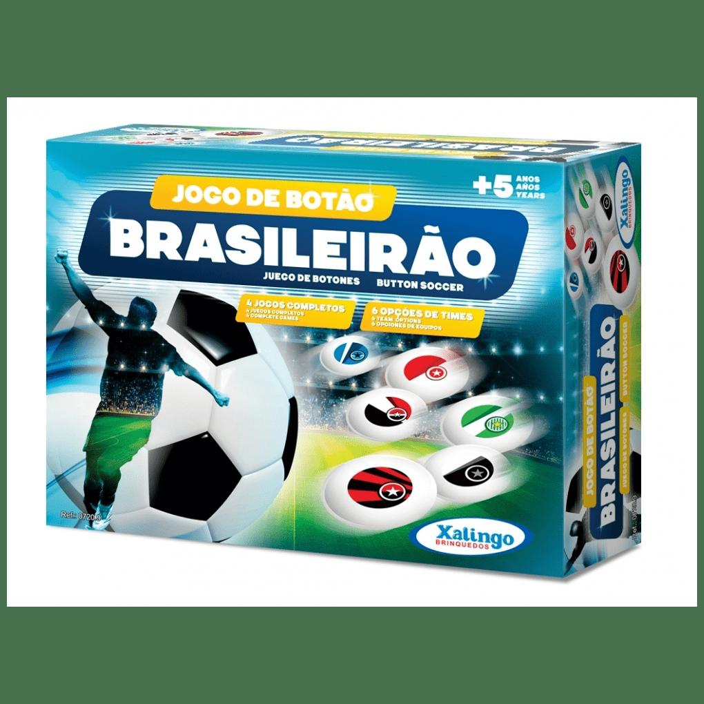 Jogo De Botão Brasileirão  - Alegria Brinquedos