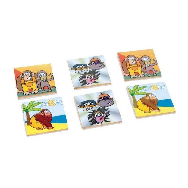 Jogo de Memória Macakids  - Alegria Brinquedos