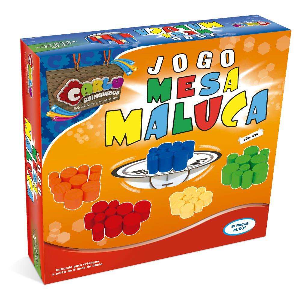Jogo - Mesa Maluca - Cx. De Papel