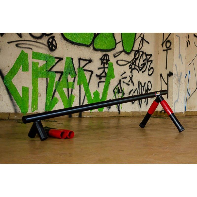 Kit Corrimão Skate / Trave Equilibrio  - Alegria Brinquedos