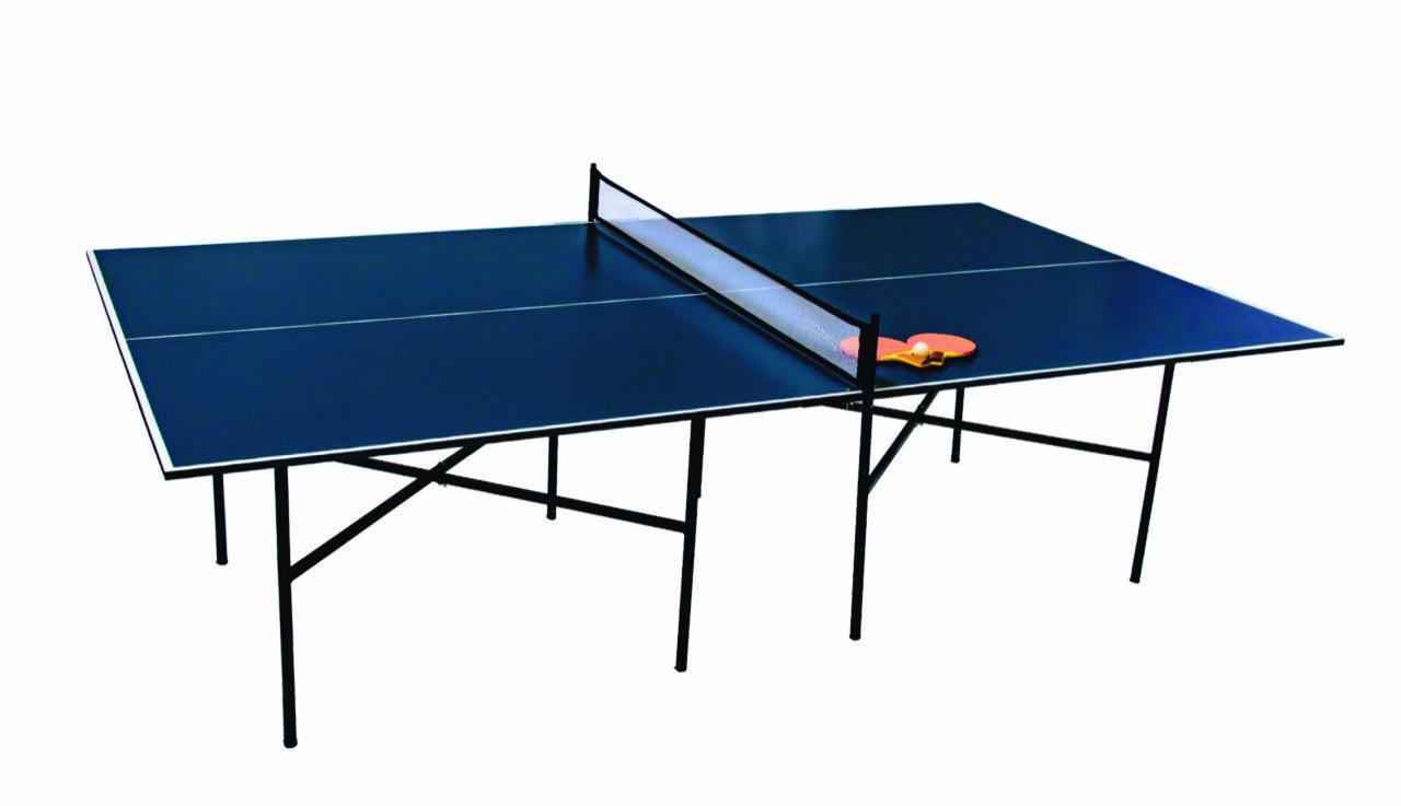 Kit Mesa De Tênis Slim Azul Fácil Esporte  - Alegria Brinquedos