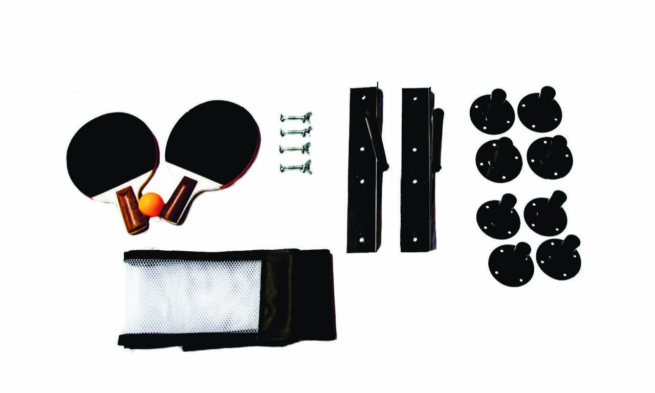 Kit Mesa De Tênis Slim Branca Fácil Esporte  - Alegria Brinquedos