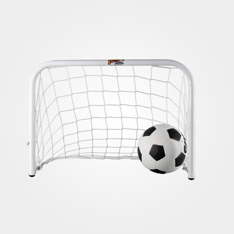 KIT (Par) Mini Trave Futebol de Rua BABY  - Alegria Brinquedos