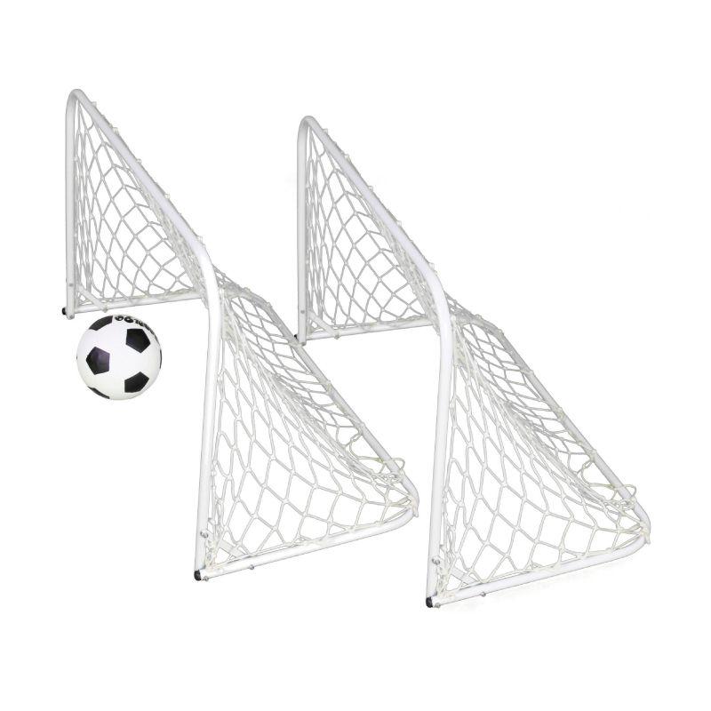 KIT (Par) Mini Trave Futebol de Rua JÚNIOR  - Alegria Brinquedos