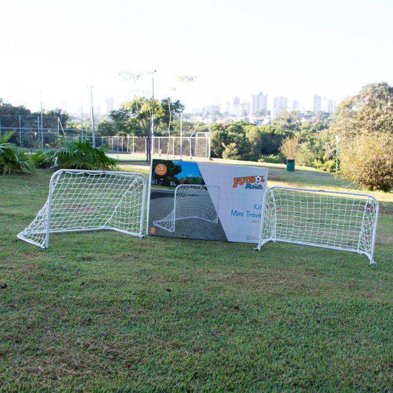 KIT (Par) Mini Trave Futebol de Rua JÚNIOR