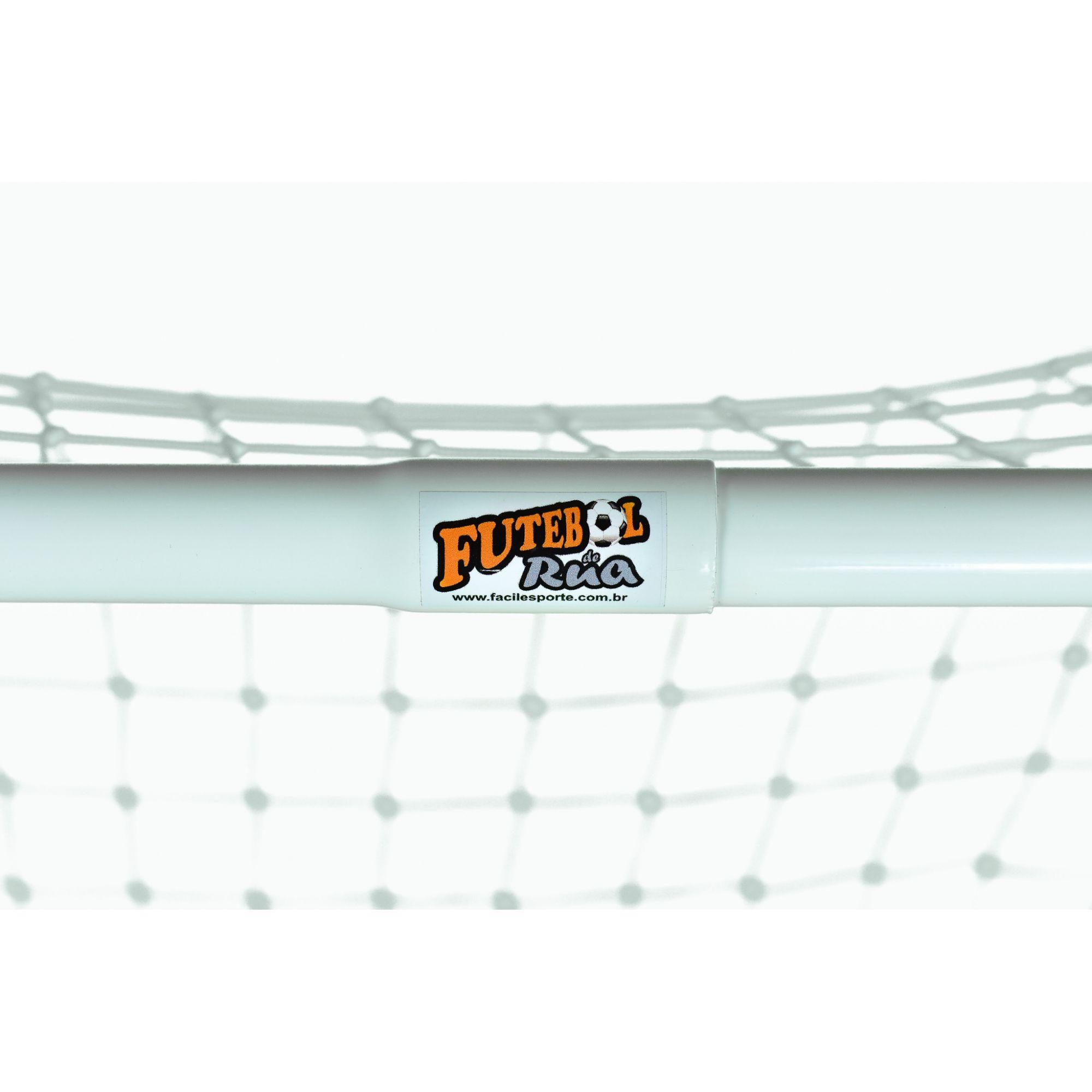 Kit (par) Mini Trave Futebol De Rua Master C/ Encaixe  - Alegria Brinquedos
