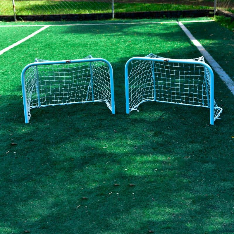 Kit (par) Mini Trave Futebol De Rua Master C/ Encaixe