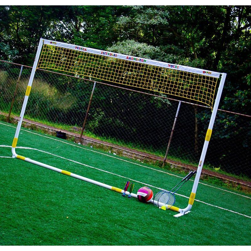 Kit Polijogos 4x1 - Fácil Esporte  - Alegria Brinquedos