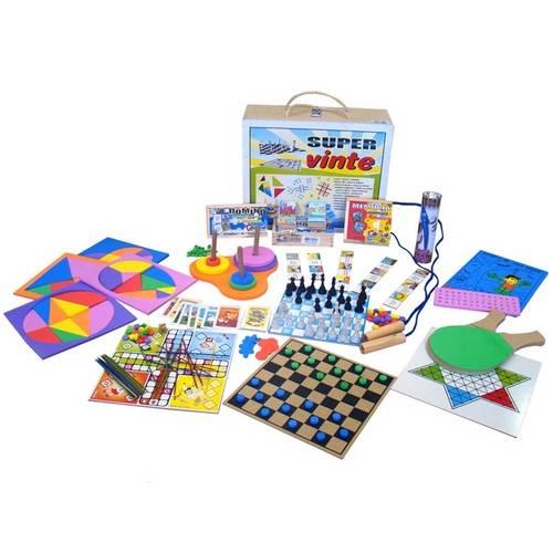 Kit Super Vinte  - Alegria Brinquedos