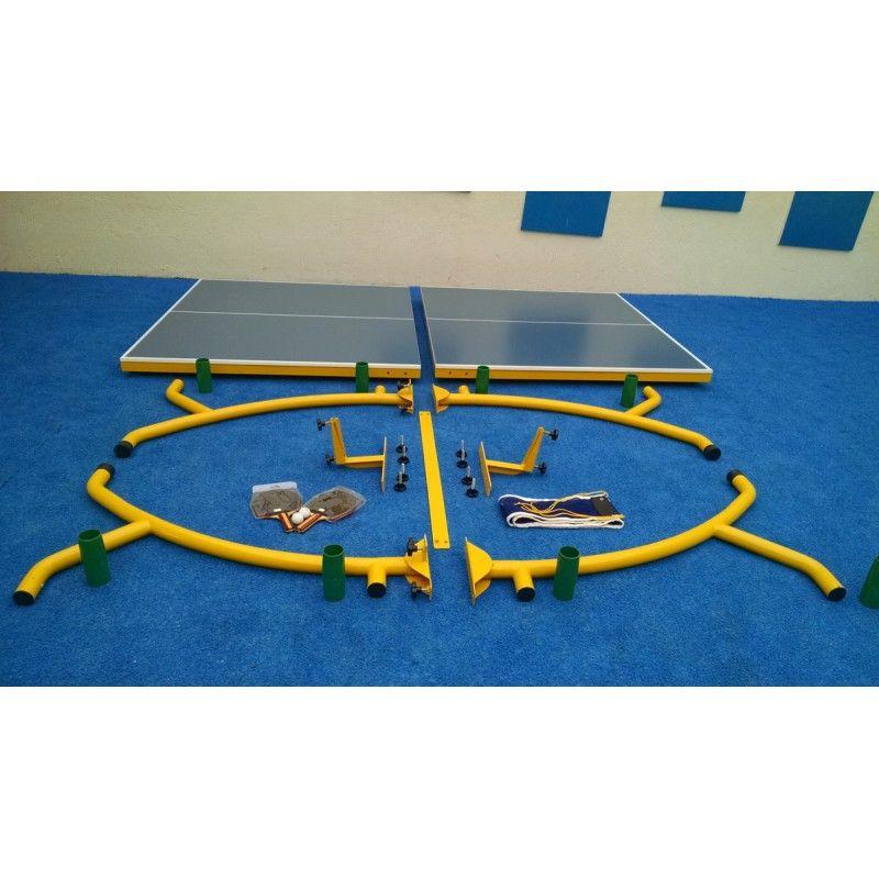 Kit Tênis de Mesa Master  - Alegria Brinquedos