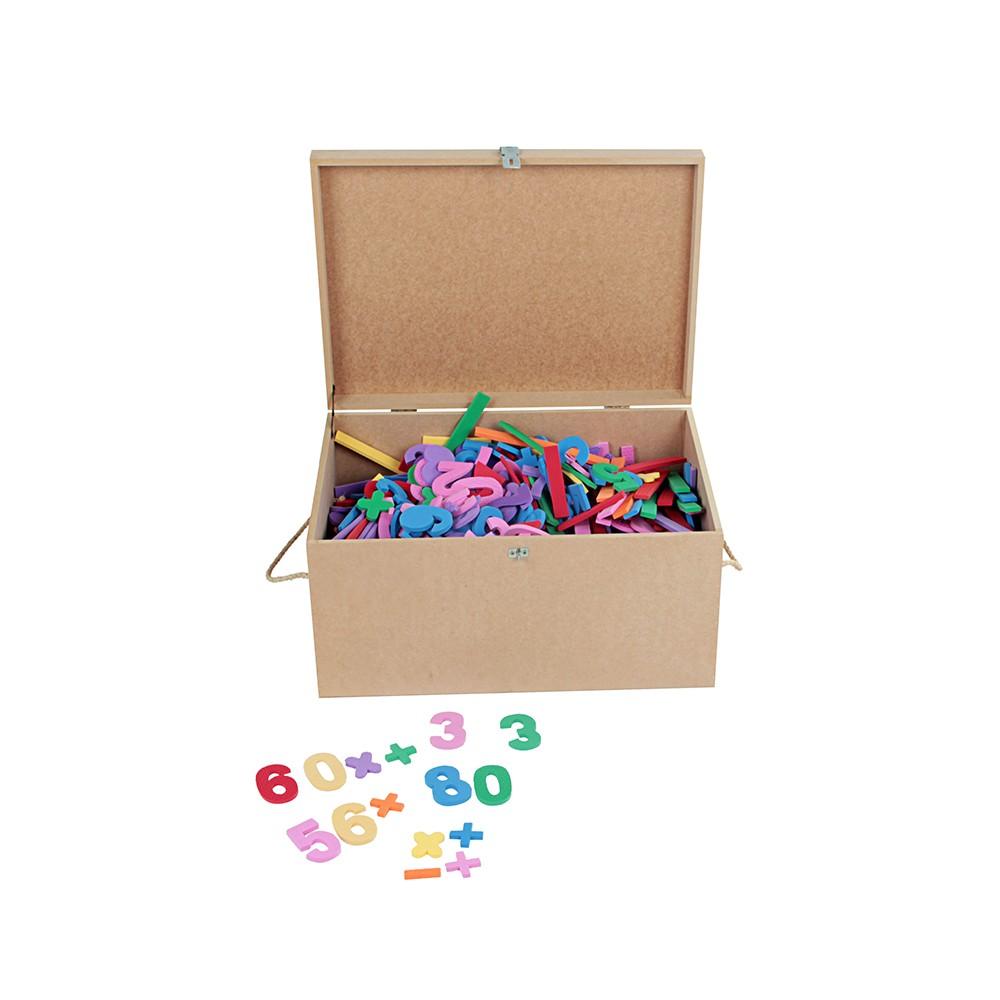 Maleta Educativa com 1000 Números  - Alegria Brinquedos