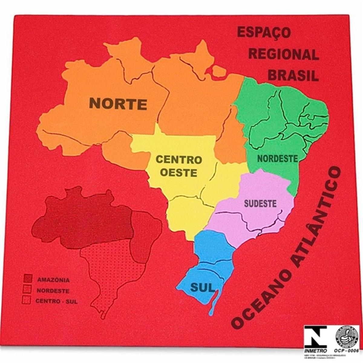 Mapa Espaço Regional  - Alegria Brinquedos