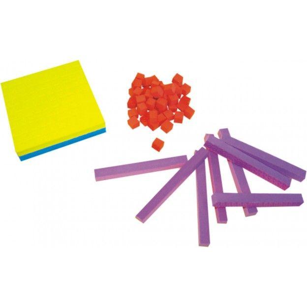 Material Dourado Individual 62 Peças em E.V.A.  - Alegria Brinquedos