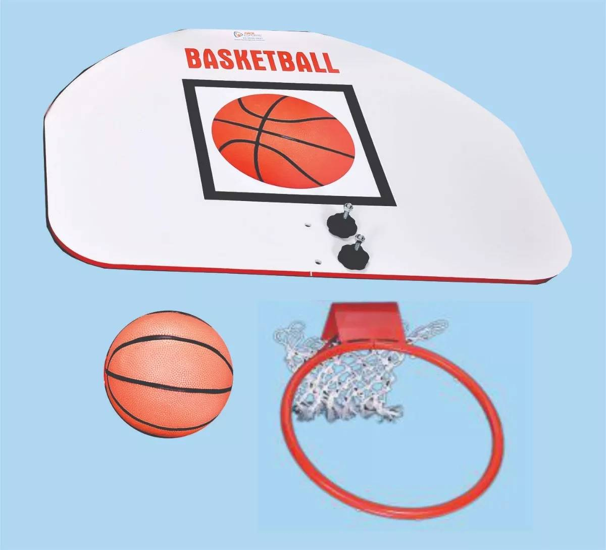 Kit Mini Tabela Basket  - Alegria Brinquedos