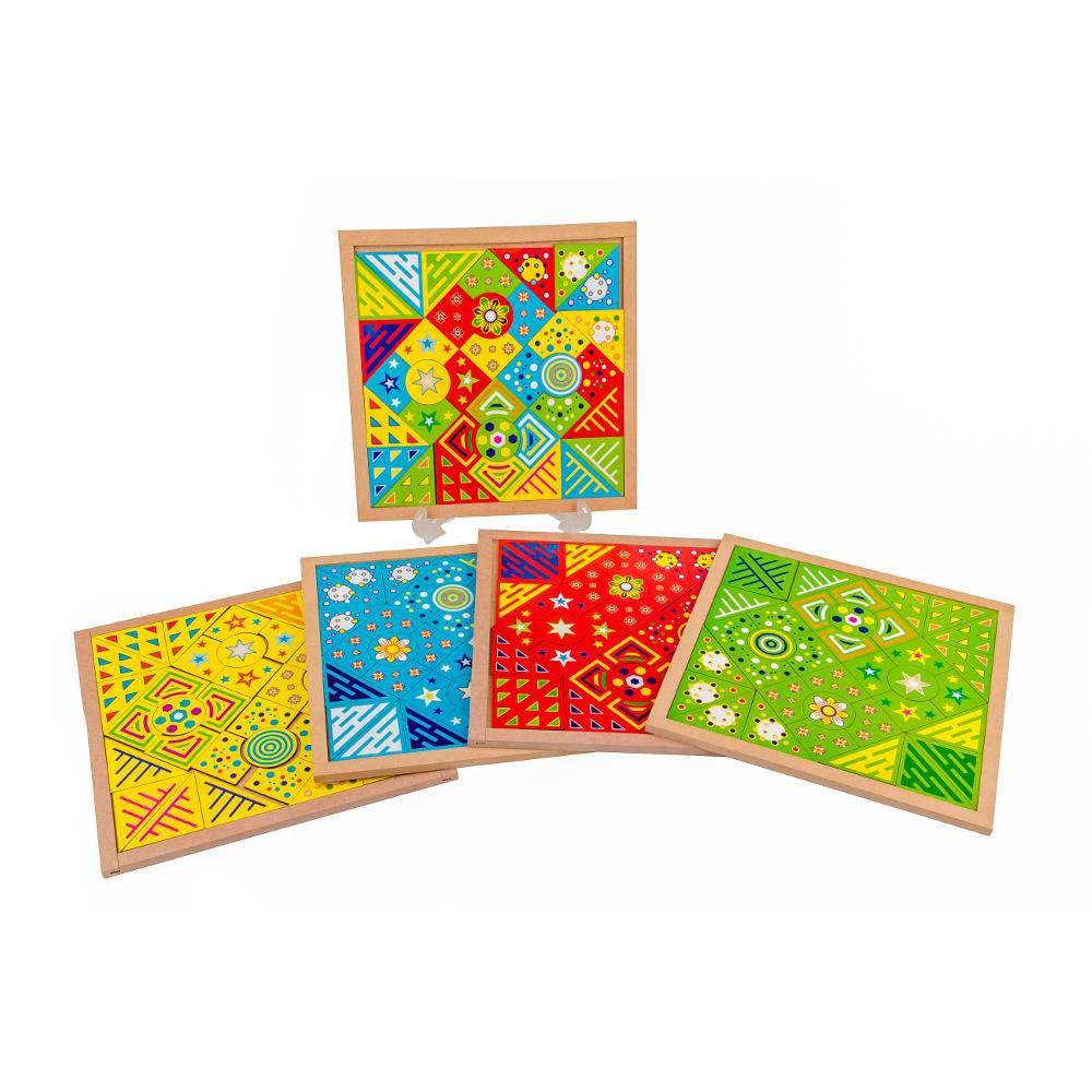 Mosaico Fantastico Kit C/ 4