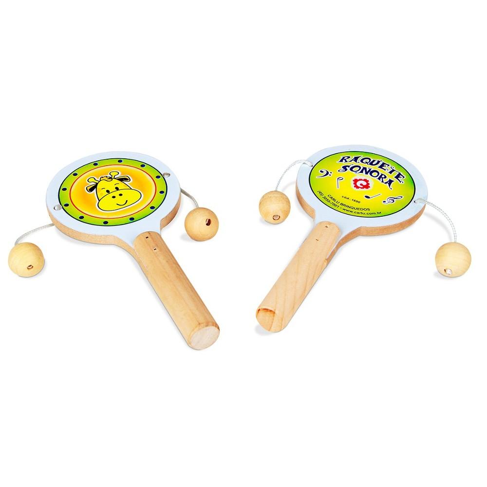 Musicalização - Raquete Sonora  - Alegria Brinquedos