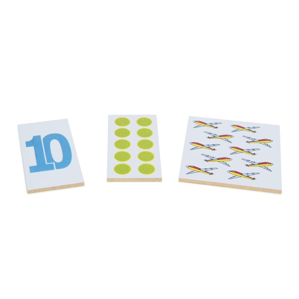 Numerais e Quantidades 30 Pecas  - Alegria Brinquedos