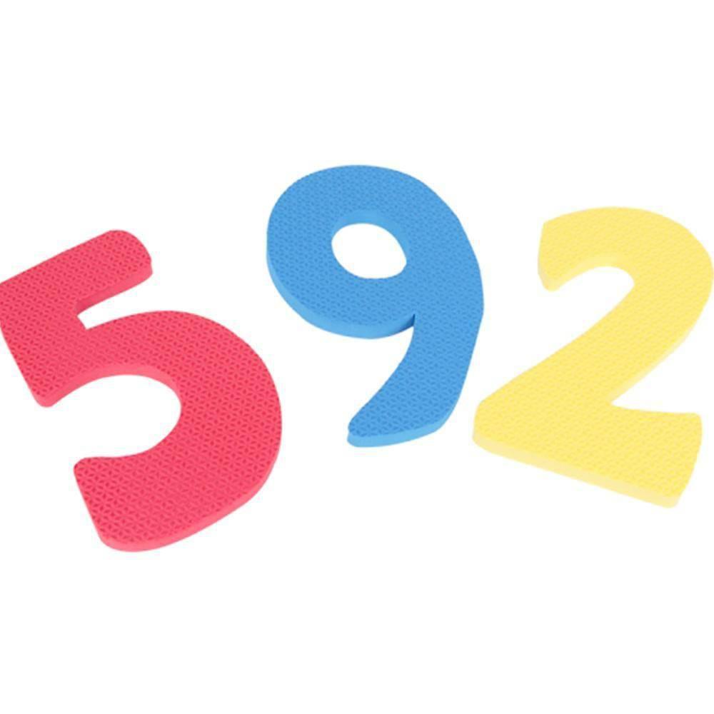 Numerais Gigantes Em E.v.a.30 Pc 18 Cm