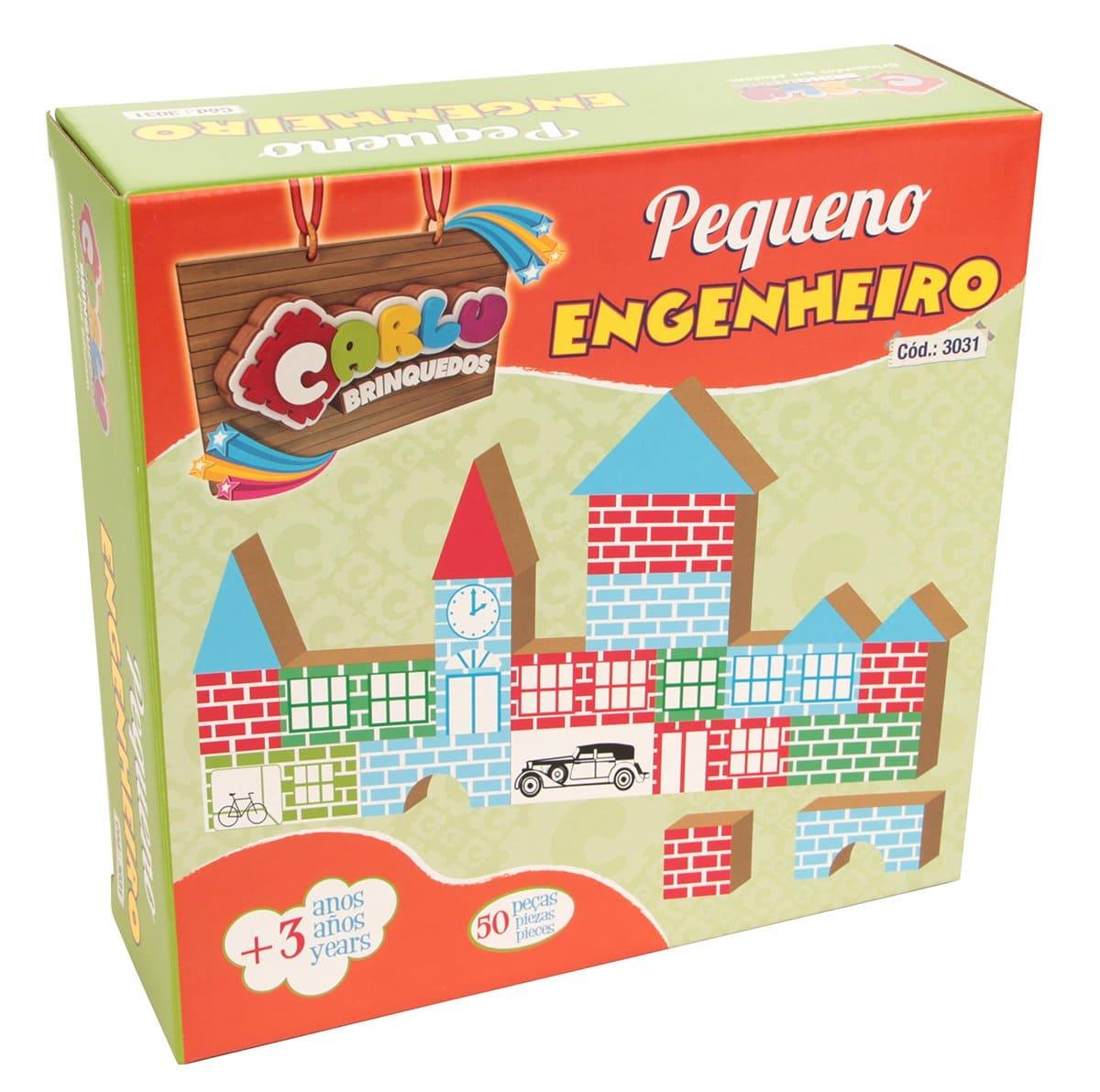 Pequeno Engenheiro - Cx. Papel  - Alegria Brinquedos