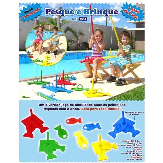 Pescaria Pesque e Brinque  - Alegria Brinquedos