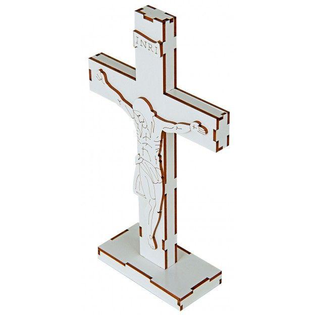 Quebra-Cabeça 3D Cruz do Pai Nosso