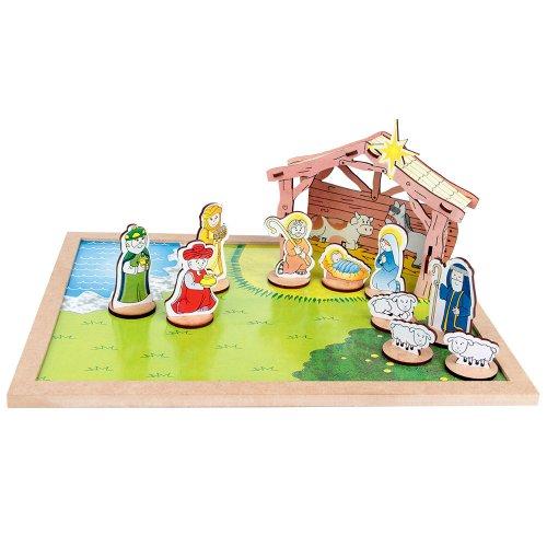 Quebra-Cabeça 3d - Presépio  - Alegria Brinquedos