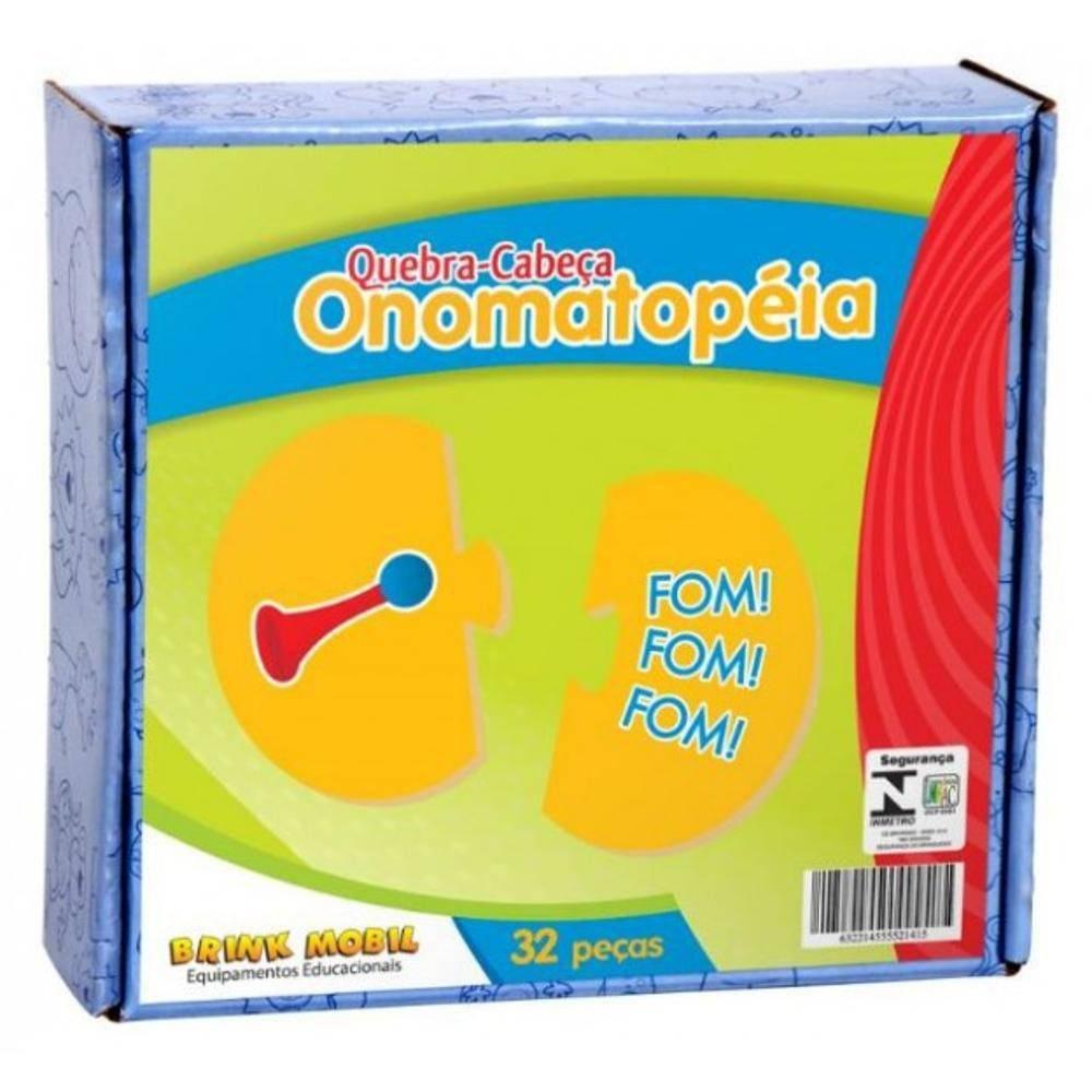 Quebra-Cabeca Onomatopeia Em M.d.f.-  - Alegria Brinquedos
