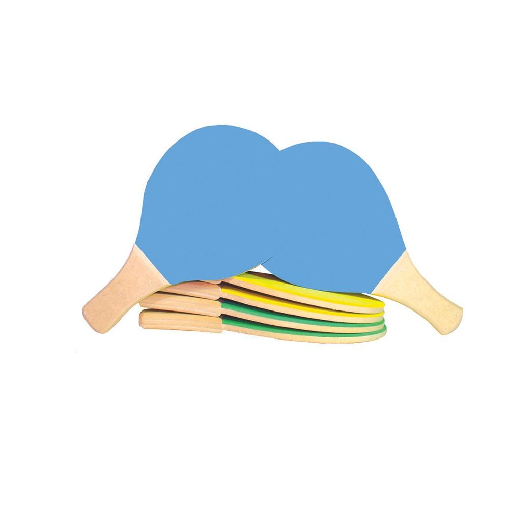 Raquete Tenis De Mesa Em M.d.f. E E.v.a.  - Alegria Brinquedos