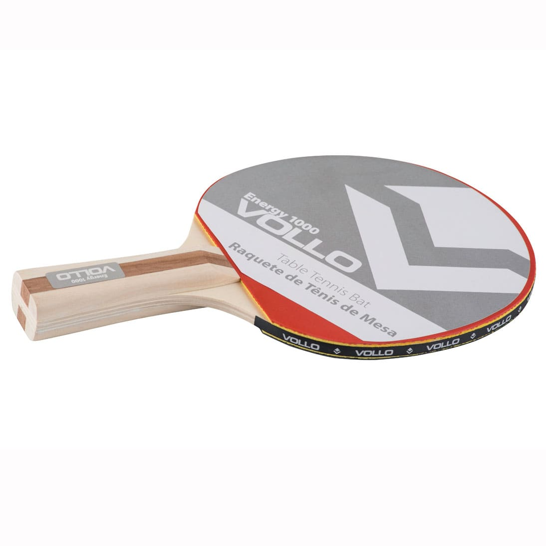 Raquete Tênis Mesa Vollo Impact 1000  - Alegria Brinquedos