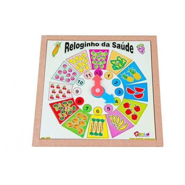 Reloginho da Saúde  - Alegria Brinquedos