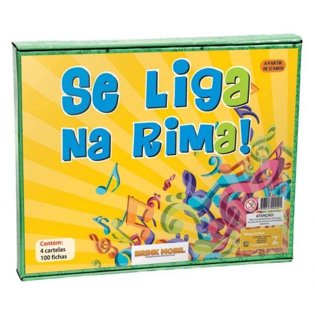 Se Liga na Rima  - Alegria Brinquedos