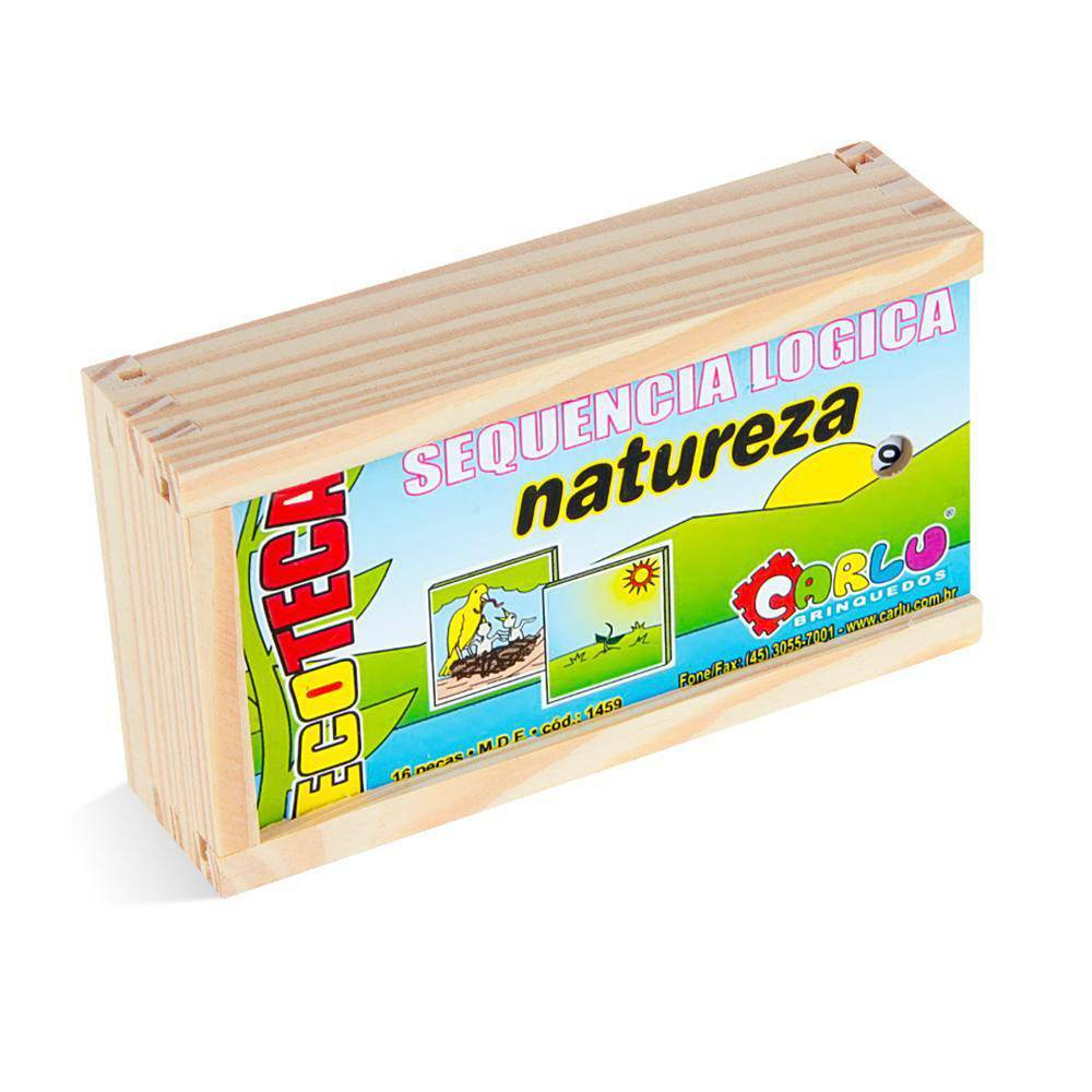 Sequência Lógica Natureza  - Alegria Brinquedos