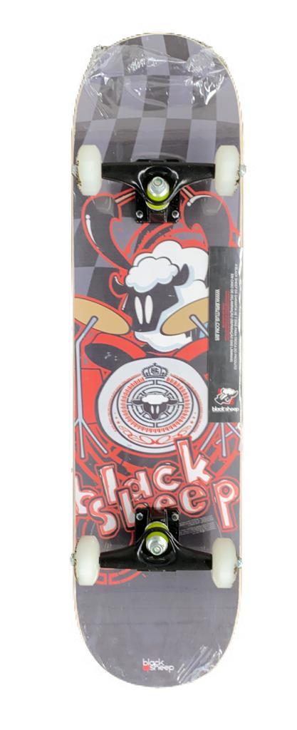 Skate Black Sheep - Iniciante  - Alegria Brinquedos