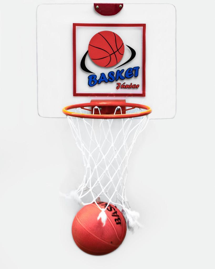 Tabela de Basket Júnior - Acrílico  - Alegria Brinquedos