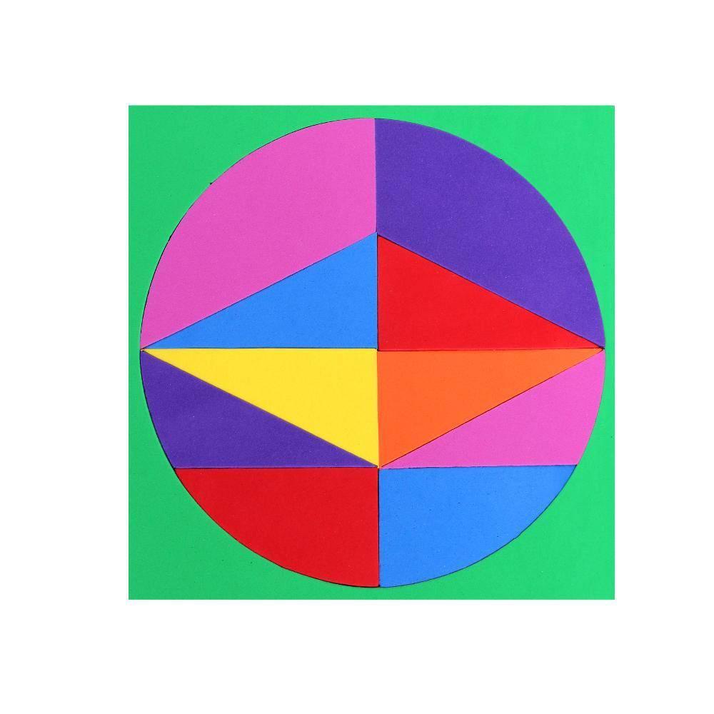 Tangram Circulo Em E.v.a. 40 Pc 4 Base